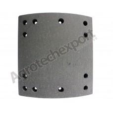 Барабанные тормозные накладки 4266/20+1 (1 ремонт) FRUEHAUF, SAF, TRAILOR