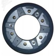 Тормозной барабан Ashok Leyland  F3S00822, EK07016