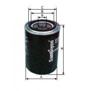 Масляный фильтр CS1415 2, 2654403 для PERKINS, CAT, JCB , Renault MIDLINER