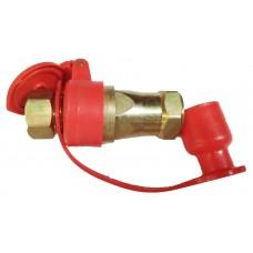 Головка соединительная FA2022 М16х1,5 желтая / красная (быстро разъемное соединение)