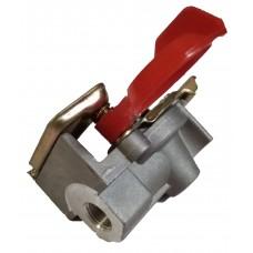 Головка соединительная М16х1,5 с клапаном FA2011C красная