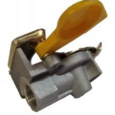 Головка соединительная М22х1,5 с клапаном FA2011B желтая