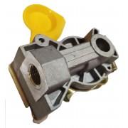 Головка соединительная М16х1,5 без клапана FA2011G желтая