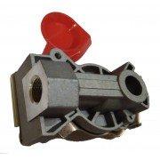 Головка соединительная М16х1,5 без клапана FA2011E красная