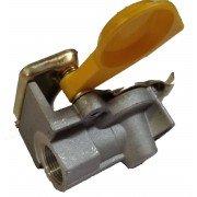 Головка соединительная М16х1,5 с клапаном FA2011A желтая