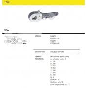 Трещетка тормозная 024490 BPW, SAF (10 шлицов) 7 отверстий механическая, двухрядная