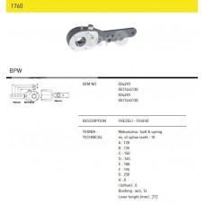 Трещетка тормозная 024490 BPW, SAF (10 шлицов) механическая, двухрядная