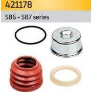 Ремкомплект пыльника навправляющей суппорта K0003 для KNORR SB6, SB7 на SAF, Mercedes, MAN, Scania, DAF, IVECO