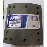 Барабанные тормозные накладки WVA19365 WVA19366 (4266/20) FRUEHAUF, SAF, TRAILOR