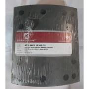 Барабанные тормозные накладки с заклепками 19369  для ROR 200*220