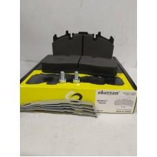 Дисковые тормозные колодки 29173 RENAULT TRUCKS, VOLVO  с монтажным комплектом