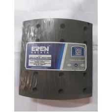 Барабанные тормозные накладки 4697+1 (1-ремонт) FRUEHAUF, ROR, TRAILOR (419*203)