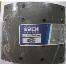 Барабанные тормозные накладки с заклепками 19926, 19932 (1-ремонт) для  SCANIA 3,4 SERIES (413*203)