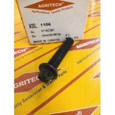T40001, Болт шатуна 4115C361, PERKINS 1100 SERIES, короткий