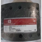 19032 Барабанные тормозные накладки 4689 для BPW, KASSBOHRER, SAF, FRUEHAUF (420*180)